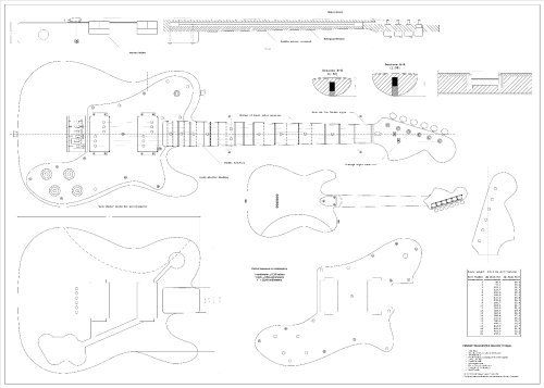 3e49207e18e1d4b21cbe9780fbee4205 fender telecaster deluxe telecaster guitar full scale plans fender telecaster deluxe electric guitar Guitar Wiring Schematics at creativeand.co