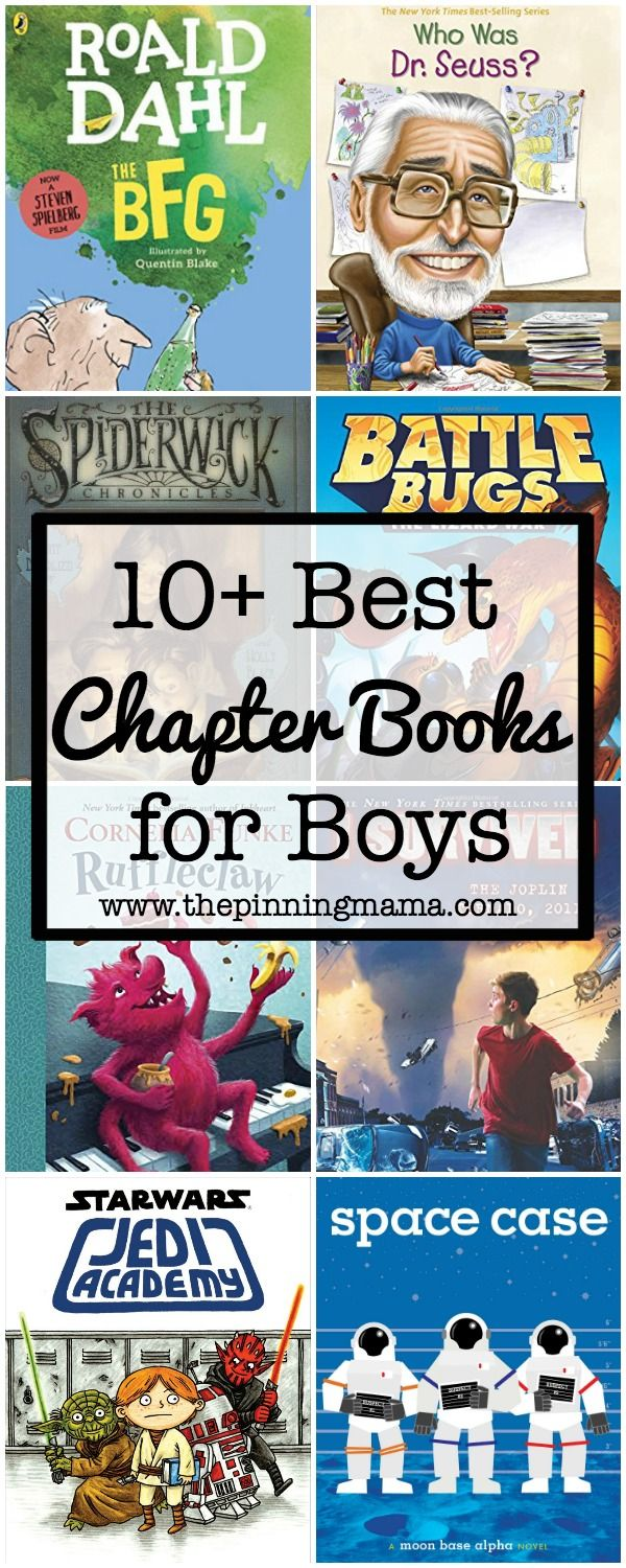 10+ Best Chapter Books For Boys