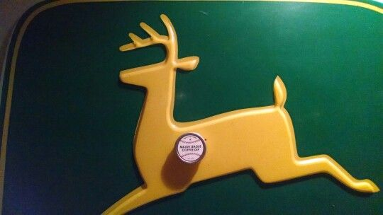 MLB dipping Tobacco Replacement John Deere Sign