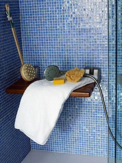 It seems like baths get all the attention these days, but we are firm believers that a shower can be just as relaxing and indulgent. Related on Yahoo Makers: 7 Hot Trends in Bathroom Design for 2015 Imagine creating a beautifully lit, aromatherapy scented environment where you can sip a glass of wine, clear your head and cleanse your body - grab a towel and DIY your way to relaxation.