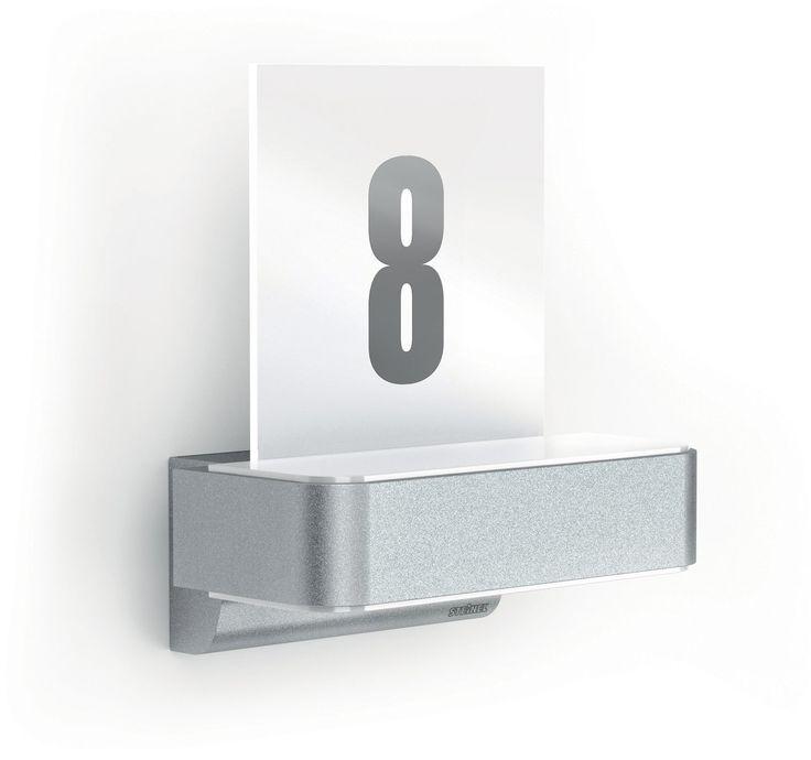 Vintage L iHF LED Up Downlight mit Hausnummer von STEINEL zu fairen Preisen kaufen bei click licht de