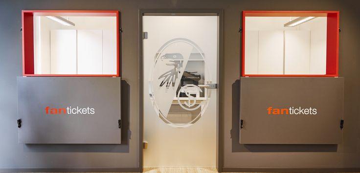 scandal architecture & interiors | Innenarchitektur Design, Ladeneinrichtung und Architekturbüro » fanstore – SC Freiburg
