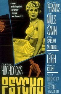 """""""Psycho"""" Directed by Alfred Hitchcock #film #horror #suspense"""