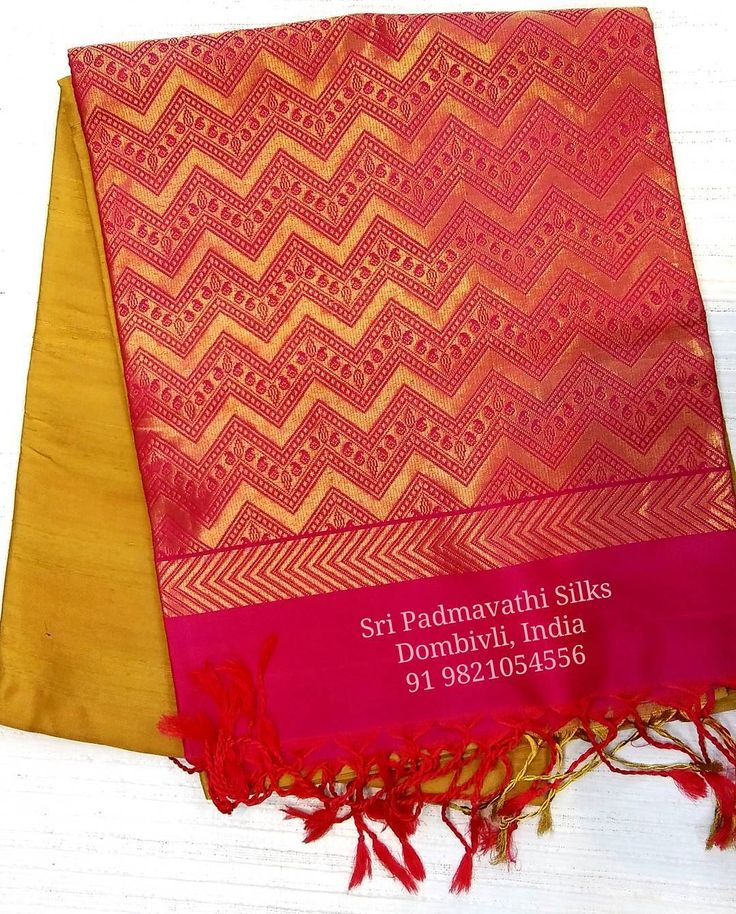 Kancheepuram handloom pure silk sarees that turns heads at weddings and evening events. Book now 91 9821054556  Sri Padmavathi Silks, the only south Indian store in Dombivli, India. Kancheepuram pure silk sarees in Mumbai. Online shopping and International shipping available. Wholesale orders accepted. #kancheepuram #saree #beautiful #fashion #love #instagram #potd #eveninglook #function #event #family #party #canada #malaysia #singapore #usa #uk #chennai #mumbai #thane #mulund #matunga…