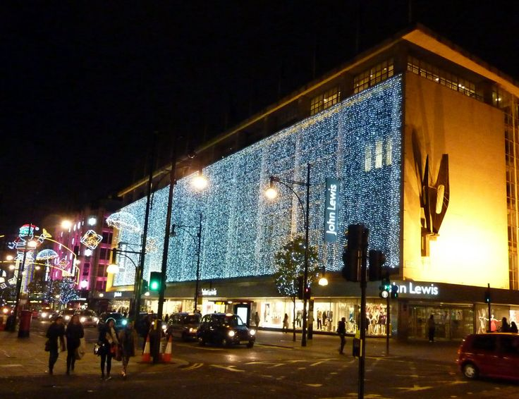 john lewis london | John Lewis Oxford Street London Christmas Lights 2012