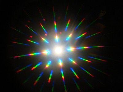 Physics department puts on light show