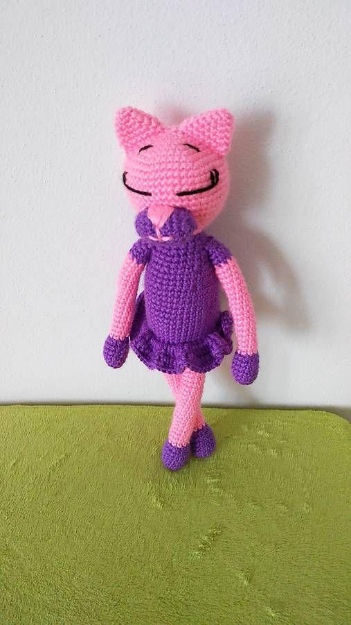Jamin / cica Mica crochet cat