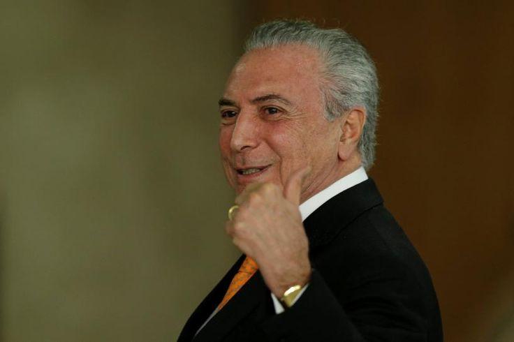 #world #news  Brazil's Temer says economy turning around, confidence rising