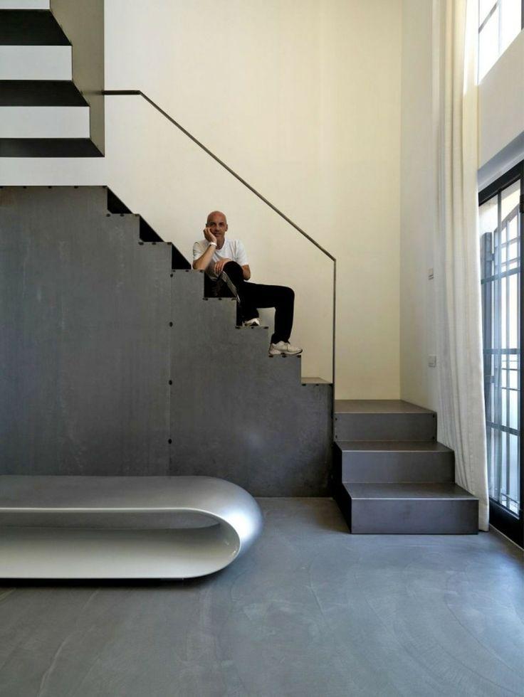 main courante et escalier design
