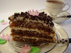 Торт Жозефина (очень вкусный:)).