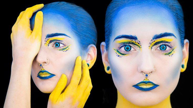 Avant Garde Mermaid Digital Art Tutorial Alien Face
