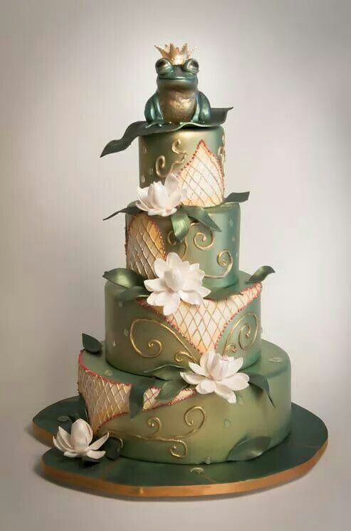 Princess And The Frog Wedding Cake