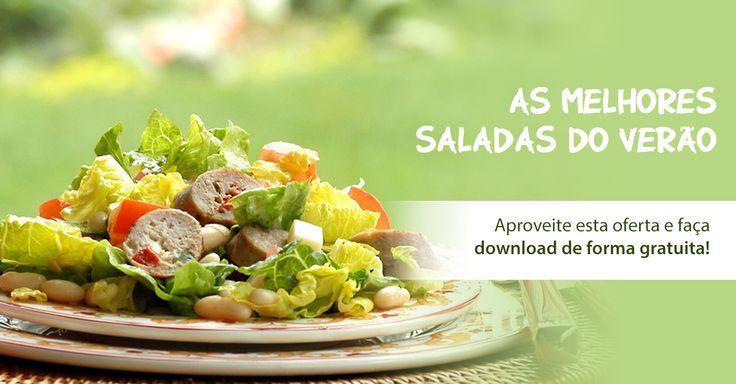 Gosta de refeições leves e nutritivas? Fáceis de preparar? Aprenda a fazer as melhores receitas de saladas e opte por uma alimentação mais saudável! Junte-se já à comunidade Receitas de Cozinha e receba GRÁTIS o Livro de Receitas de Saladas.