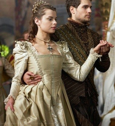 Charles Brandon 1st Duke of Suffolk with wife Catherine Willoughby, 12th Baroness Willoughby de Eresby now Duchess of Suffolk. ~ The Tudors