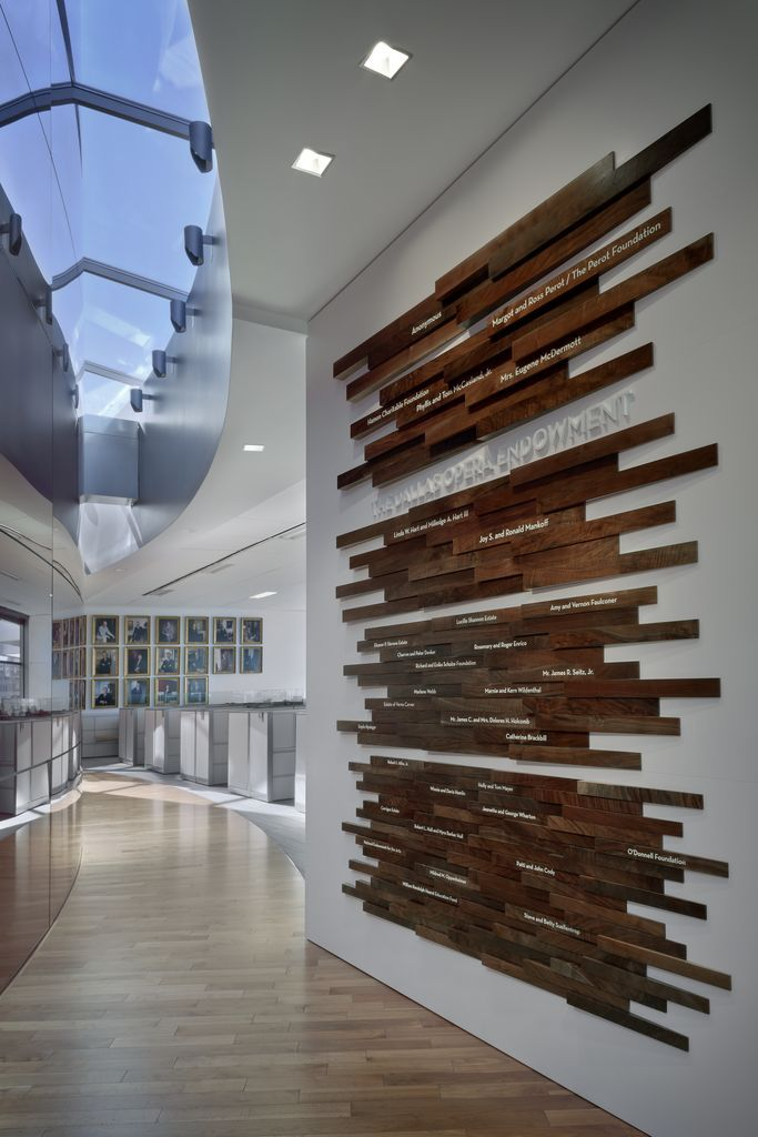 Winspear Donor wall