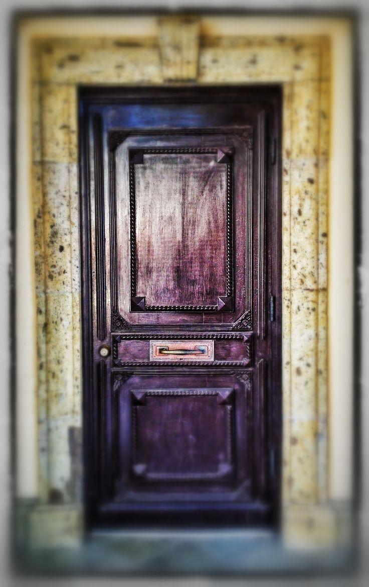 Purple Front Door Google Search Magic Doors Pinterest