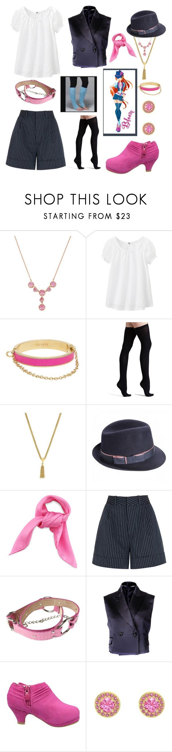 """""""Bloom Winx Club for my daughter"""" by knightwolves ❤ liked on Polyvore featuring Betsey Johnson, Uniqlo, CC SKYE, Commando, Vince Camuto, Totême, Dolce&Gabbana, Sacai and Gemvara"""