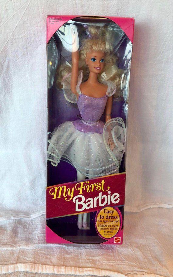 Vintage 1993 My First Barbie Ballerina Barbie Vintage Dance Barbies Vintage My First Barbie Vintage Ballerina Barbie Rare Vintage Barbies Ballerina Barbie Barbie Barbie Doll Accessories