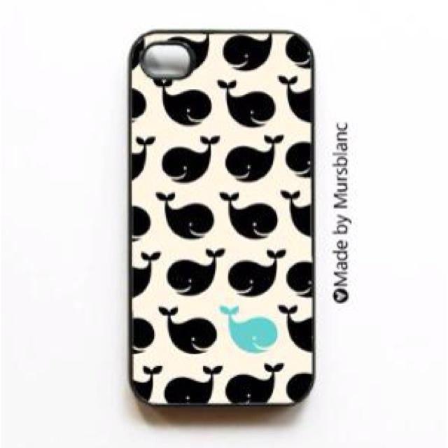 Cute whale phone case! Cute for the summer! @Callie Maffett