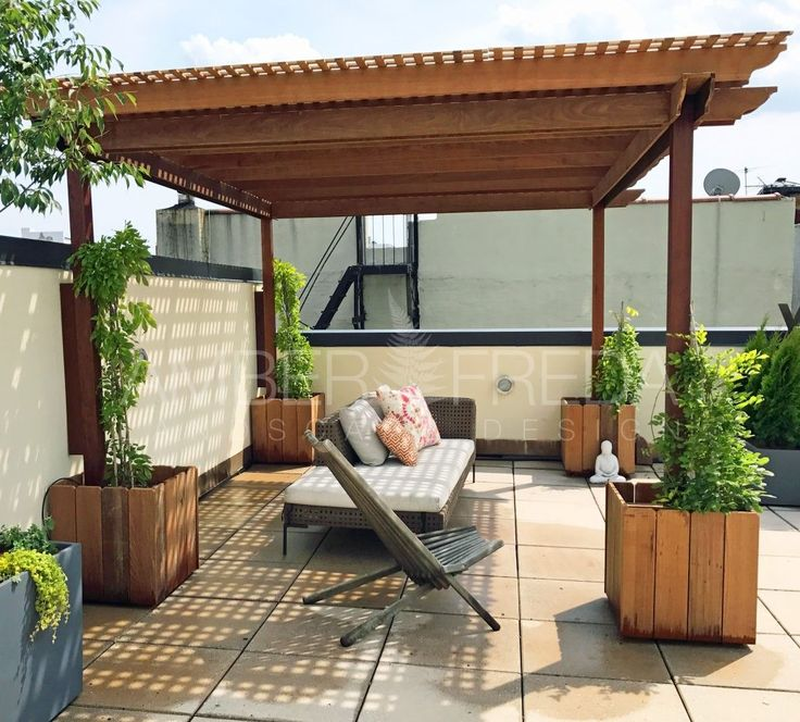 Roof Garden Ideas Diy Planter Boxes