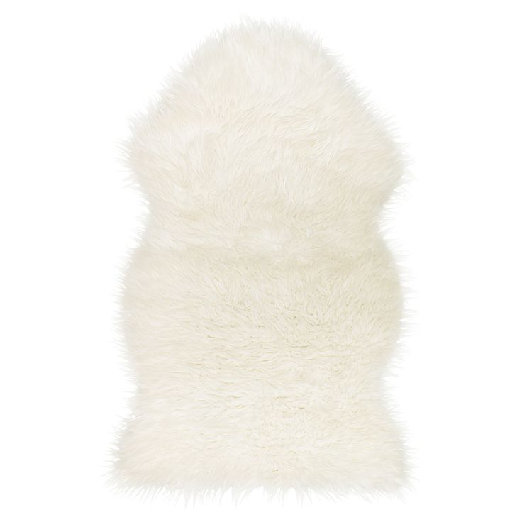 TEJN Faux sheepskin - IKEA £10 add a bit of softness and warmth to the room