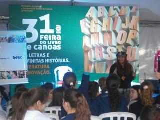 Poetinhas iluminados: Angélica Rizzi na 31ª Feira do livro de Canoas-RS!...
