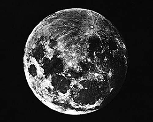 The very first photo of the moon, taken by John William Draper in 1839.