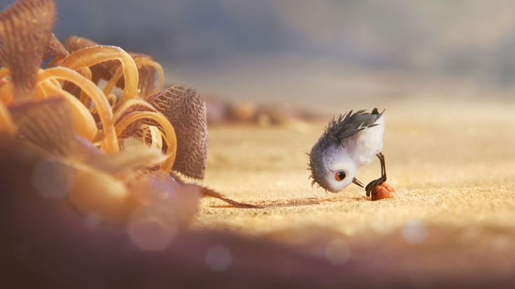"""New and Adorable Images of Disney•Pixar's """"Piper"""""""