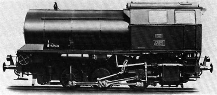 1952 Henschel 0-6-0 high-pressure fireless locomotive