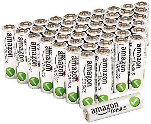 AmazonBasics AA Performance Alkaline Batteries (48-Pack) - http://www.rekomande.com/amazonbasics-aa-performance-alkaline-batteries-48-pack/