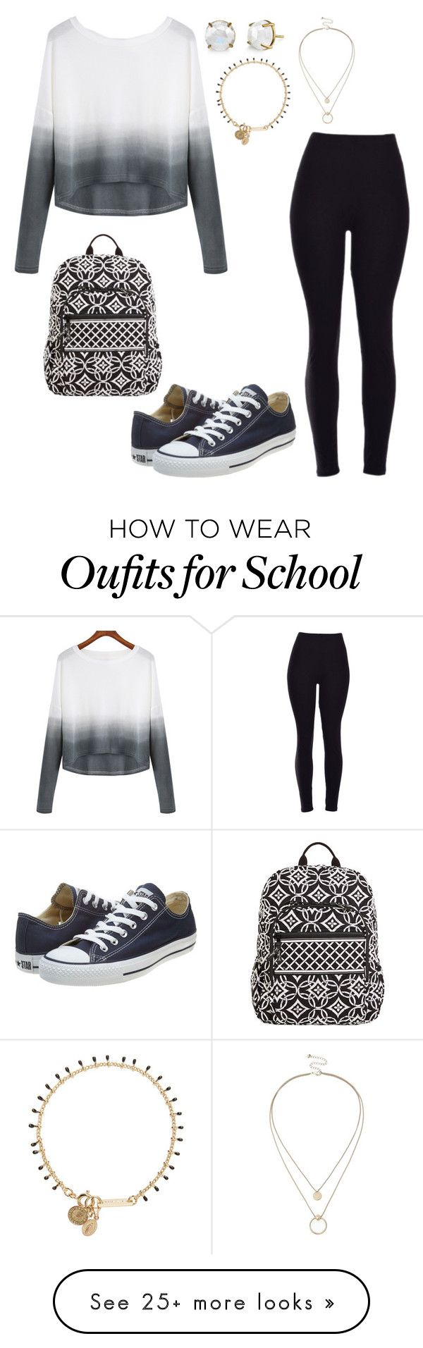 """School day:Wednesday"" by sweet-brownsuga on Polyvore featuring Converse, Sole Society, Isabel Marant, Vera Bradley, women's clothing, women, female, woman, misses and juniors"