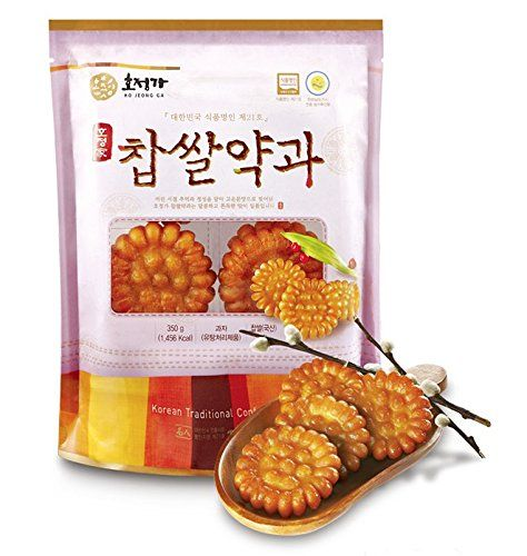 Korean Traditional Glutinous Rice Sweet Yak Gwa Cookies ...