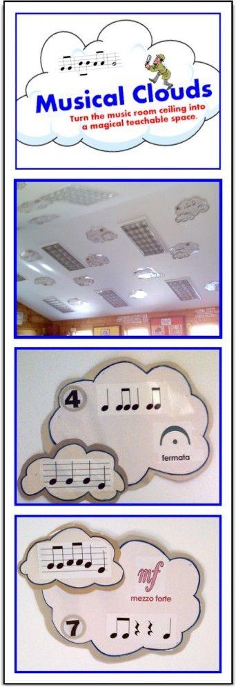 Musical Clouds that Teach