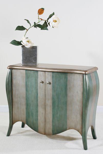 metallic: Buffet, Furniture Pc, Chest, Accent Furniture, Furniture Painted, 1 Furniture, Bureau, Painting Stripes On Furniture