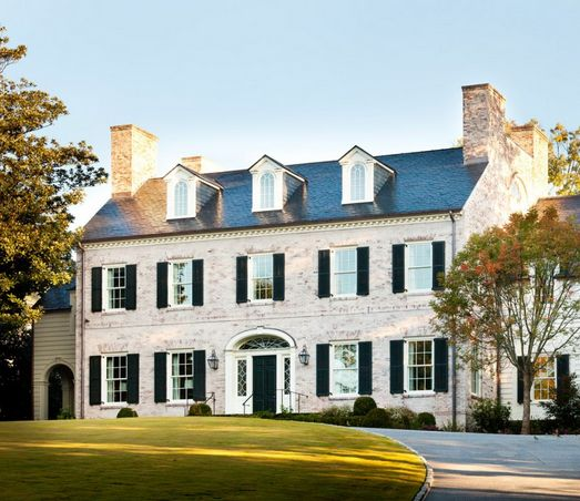 New Brick Homes: 17 Best Ideas About Classic House Exterior On Pinterest