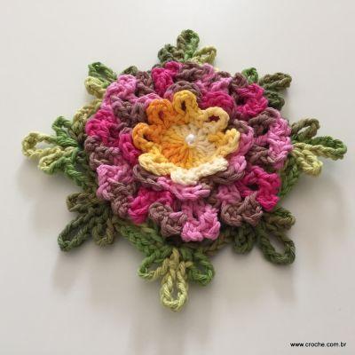 Flor cravo passo a passo (249)