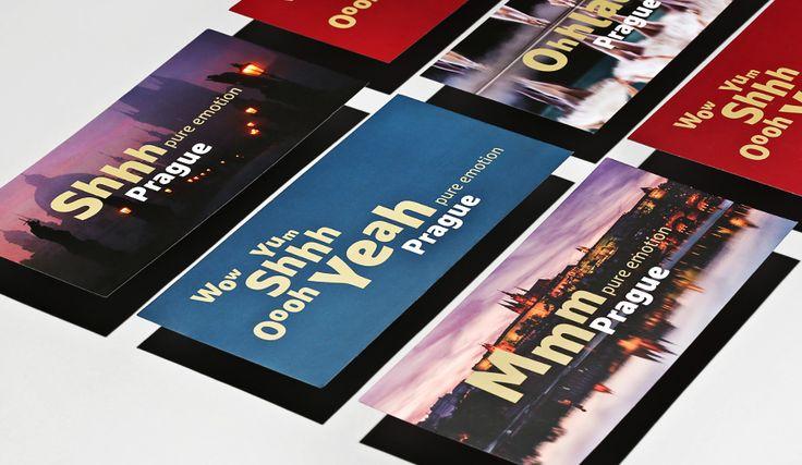 WOW Prague - marketing agency Corporate visual identity by Dynamo design, photo of printed realization by w:u studio