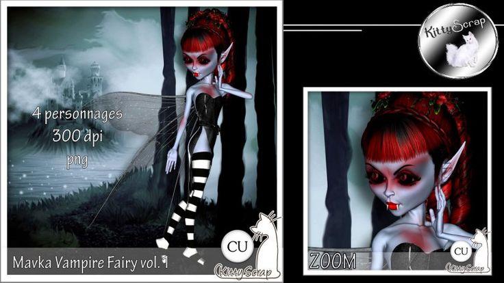 CU Mavka Vampire fairy vol.1 by kittyscrap