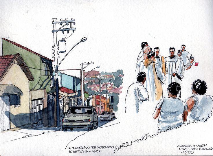 Rua Floriano Peixoto and Priests