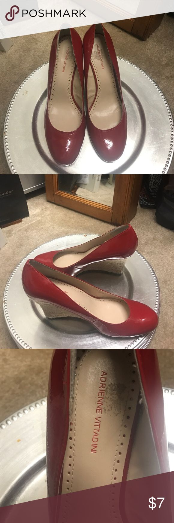 Red wedge shoes Red wedge heels shoes Shoes Wedges