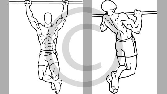 #Physical Preparations for #Mountaineering Courses - #Pull-ups for increasing Arm Strength