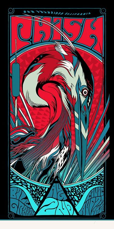 Phish posters by tyler stout