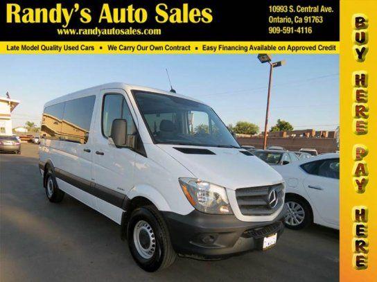 Van, 2016 Mercedes-Benz Sprinter 2500 144 Passenger in Ontario, CA (91762)