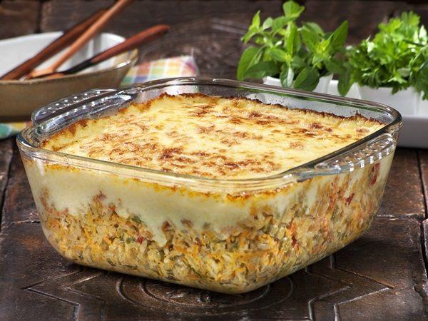 Aprenda a preparar a receita de Arroz de Forno