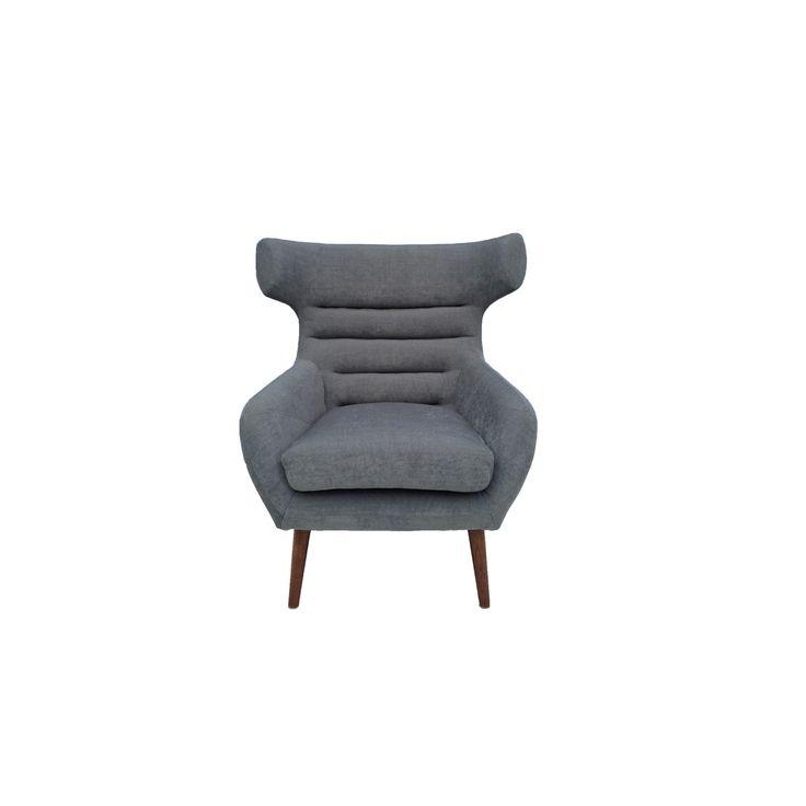 Vifah Iconic Cabriole Steel Fabric Chair