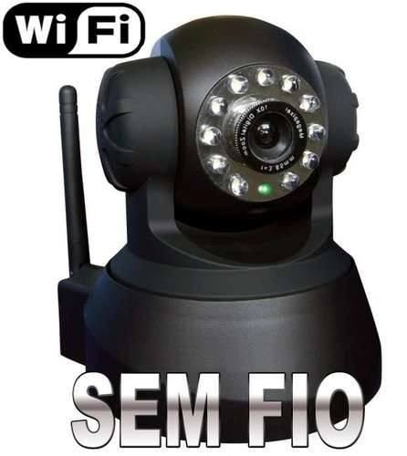 câmera wireless sem fio ip infravermelho com movimentação
