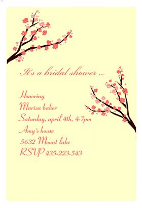 17 best 1000 images about Bridal shower invitations on Pinterest Free