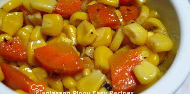Buttered Corn & Carrots Recipe