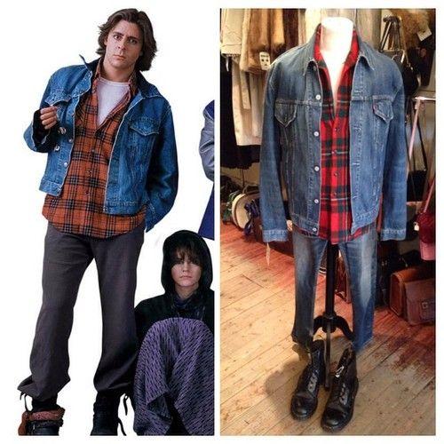 Eat..my..shorts • Levi denim jacket - size XL - £38 • tartan jacket/shirt - size XL - £18 • levi jeans - size M/L • black doc martens - size UK 9 - £25 #docmartens #johnbender #thebreakfastclub #breakfastclub #rebel #juddnelson #criminal #levi #levijeans #denimjacket #levidenimjacket #twitter #instagood #instagram #internationalselling #80s #80smovie #costume #dressup