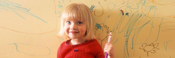 Copilul deseneaza peretii? Sugestii!